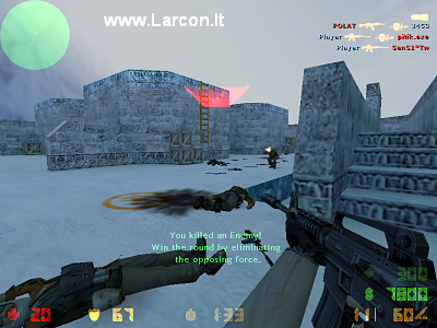 Screen-Shot of CS 1.6 Original gameplay.
