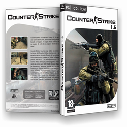 Counter Strike 1.6 download logo.